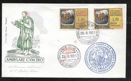 Italy - 1961 San Paolo Set On Illustrated FDC - FDC