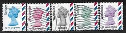 GB 2003 WORLDWIDE MACHIN STAMPS SA OFF PAPER COMPLETE SET - 1952-.... (Elizabeth II)