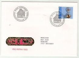 Suisse // Schweiz // Switzerland // Pro-Patria // Bundesfeier-- Fête Nationale 1993 - Pro Patria