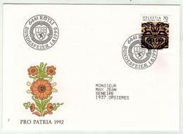 Suisse // Schweiz // Switzerland // Pro-Patria // Bundesfeier-- Fête Nationale 1992 - Pro Patria