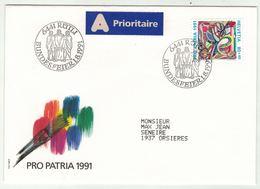 Suisse // Schweiz // Switzerland // Pro-Patria // Bundesfeier-- Fête Nationale 1991 - Pro Patria