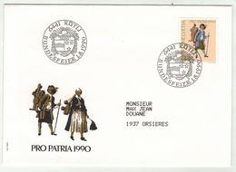 Suisse // Schweiz // Switzerland // Pro-Patria // Bundesfeier-- Fête Nationale 1990 - Pro Patria