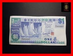 SINGAPORE 1 $  1984  P.  18 A   UNC - Singapore