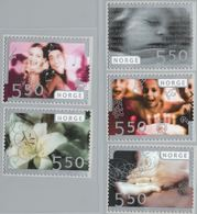 Norge, Norway 2003 Greeting Stamps Values MNH 2004.3017 - Unused Stamps