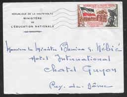 Upper Volta / Haut Volta - 1960 Cover Franked Independance Stamp - Alto Volta (1958-1984)
