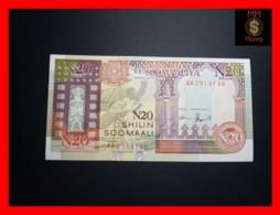 SOMALIA 20 N- Shilin Soomaali 1991 P. R 1   RARE  UNC - Somalia