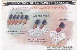 EXPOSITION DE LA FAMILLE FRANCAISE - Humoristiques