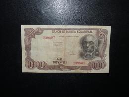 Billet 1000 Bipkwele 1979 Guinée Equatoriale - Equatorial Guinea