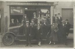 Bruxelles Café De La Chasse Royale  CARTE PHOTO - Cafés, Hôtels, Restaurants