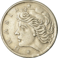 Monnaie, Brésil, 50 Centavos, 1975, TTB, Copper-nickel, KM:580a - Brésil