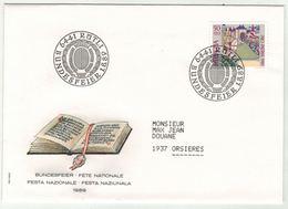 Suisse // Schweiz // Switzerland // Pro-Patria // Bundesfeier-- Fête Nationale 1989 - Pro Patria