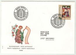 Suisse // Schweiz // Switzerland // Pro-Patria // Bundesfeier-- Fête Nationale 1988 - Pro Patria
