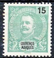 !■■■■■ds■■ L.Marques 1903 AF#69(*) Mouchon New Colors 15 Réis (x2881) - Lourenco Marques