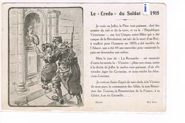CPA Miltaire.Le Credo Du Soldat En 1915   (D.042) - Humor