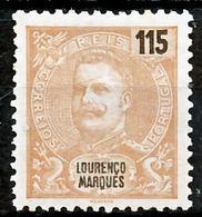 !■■■■■ds■■ L.Marques 1903 AF#74(*) Mouchon New Colors 115 Réis (x7937) - Lourenco Marques