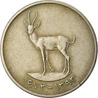 Monnaie, United Arab Emirates, 25 Fils, 1973, British Royal Mint, TTB - Emirats Arabes Unis