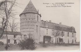 CPA Précurseur Environs De Ribérac - Tour De La Rigale - Ancien Sanctuaire D'un Temple Romain - Riberac