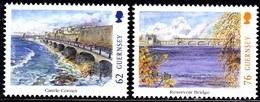 Europa Cept - 2018 - Guernsey - (Bridges) ** MNH - 2018