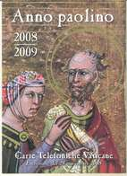 FOLDER VATICANO - ANNO 2008 - ANNO PAOLINO - SERIE DI 4 VALORI NUOVI - Vaticaanstad