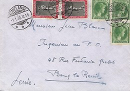 Luxembourg  -  Lettre  -  1.1.1938 - Luxembourg