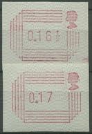 Großbritannien 1984 Automatenmarken ATM 1.2 Satz 3 Postfrisch - Grossbritannien