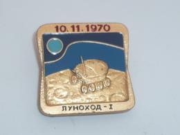 BROCHE SOVIETIQUE, LUNOKHOD 1, VEHICULE LUNAIRE 1970 - Ruimtevaart