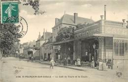 03 , ST POURCAIN/SIOULE , Le Café Du Cours , CF * 349 45 - Frankreich