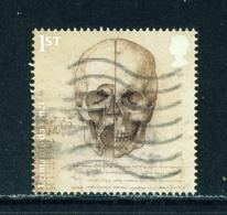GREAT BRITAIN  -  2019 Da Vinci 1st Used As Scan - 1952-.... (Elizabeth II)