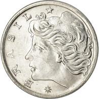 Monnaie, Brésil, 5 Centavos, 1976, TTB, Stainless Steel, KM:587.1 - Brésil