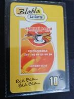 Caribbean Phonecard St Martin French BLA BLA La CARTE  10 EURO   MINT NO CLC  6 Tirage 1000x  **1750 ** - Antilles (French)