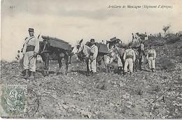 GUERRE - Artillerie De Montagne - Régiment D'Afrique - Andere Oorlogen