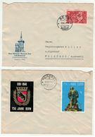 Suisse // Schweiz // Switzerland // Pro-Patric //  Lettre Pour Weissbad (vignettes Au Dos De La Lettre) - Covers & Documents