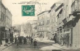 07 , AUBENAS , Entrée Place Du Champ De Mars , * 354 37 - Aubenas