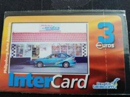 Caribbean Phonecard St Martin French INTERCARD  3 EURO  PHILIPPSBURG AUTO   TIRAGE 1000X  MINT NO 146  **1761** - Antilles (French)