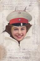 AK Mäuschen In Feldgrau - Frau In Uniform - 1916 (49580) - War 1914-18