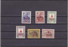 Portugal -Luis De Camões - Cruz Vermelha Com Sobrecarga 1934    Novos - Portogallo