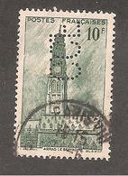 Perfin/perforé/lochung France No 567 C.C.F Crédit Commercial De France (64) - Frankrijk