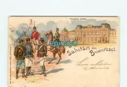 ROUMANIE - Salutari Dim BUCURESCI - Palatul Regal - Romania