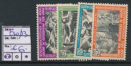 BELGIUM E30/33 MNH - Commemorative Labels
