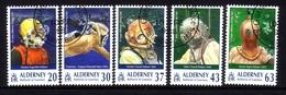 ALDERNEY MI-NR. 116-120 O TAUCHVEREIN - TAUCHGERÄTE 1998 - Alderney