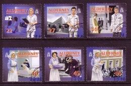 ALDERNEY MI-NR. 167-172 A O SOZIALE DIENSTE(I) - GESUNDHEITSWESEN 2001 - Alderney