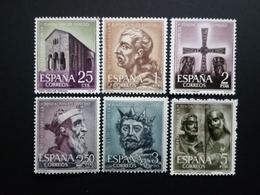 SPANIEN MI-NR. 1289-1294 POSTFRISCH(MINT) 1200 JAHRE KATHEDRALE VON OVIEDO 1961 KÖNIG ALFONS - 1961-70 Neufs