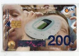 ALGERIE Télécarte à Puce STADE DE FRANCE  200 DA - Argelia