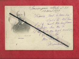 CPA -   Paul Déroulède   - Ecrit De La Cellule N°33 - Autographe , Poète , Auteur , Romancier , Politicien ,Politique - Personnages