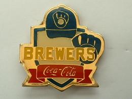 PIN'S COCA COLA - BREWERS - BASEBALL - Coca-Cola