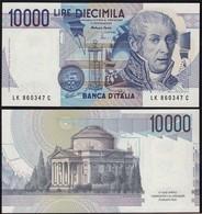 Italien - Italy 10000 10.000 Lire Banknote 1984 Pick 112d UNC (1)  (14795 - Non Classificati