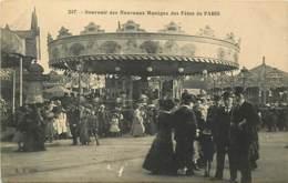 75 , Souvenir Des Fetes De PARIS , Les Nouveaux Maneges Forains ( Caroussel ) , * 392 41 - Sonstige