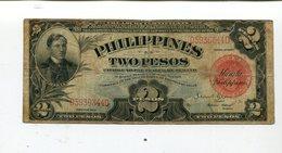 PHILIPPINES 2 PESOS 1936 FINE 4.25 - Philippines