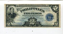 PHILIPPINES 2 PESOS VICTORY NOTE AU 4.25 - Philippines