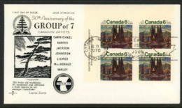 Canada FDC 1070 (Group Of Seven) - 1952-.... Règne D'Elizabeth II